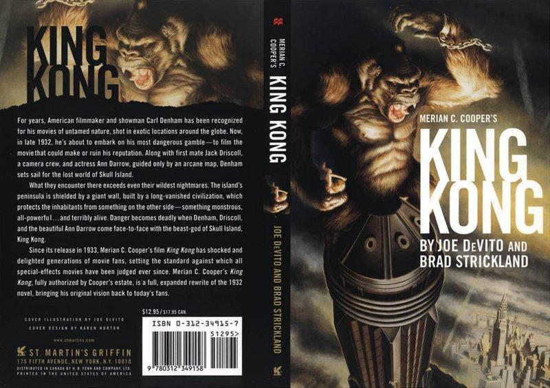 Merian C. Cooper's King Kong : A Novel (Paperback) - 800x565, 114kB