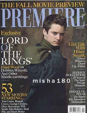 Elijah Wood Cover from Premiere Magazine - 285x370, 26kB