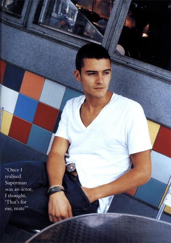 Orlando Bloom in Glamour Magazine - 564x800, 66kB