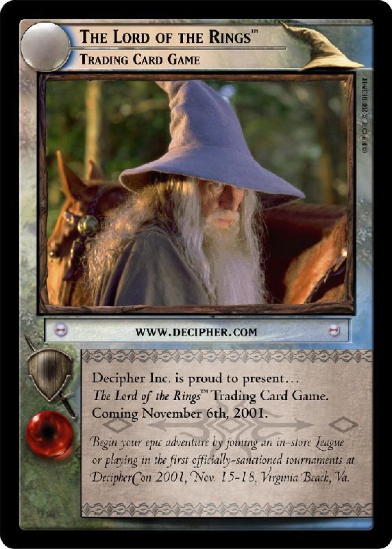 Promotional Gandalf Decipher Card - 572x800, 82kB