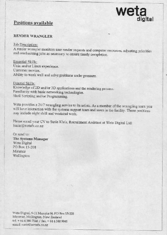 WETA Digital Job Advertisement - 568x800, 56kB
