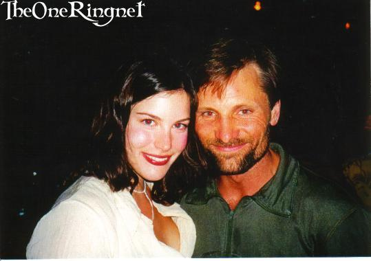 Liv Tyler & Viggo Mortensen Photo - 539x380, 25kB