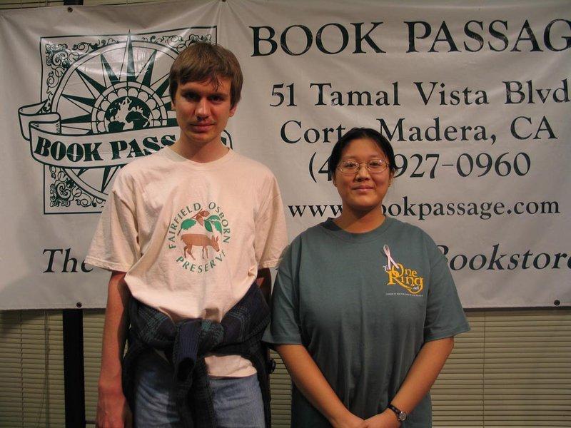 Alan Lee Book Tour: Corte Madera, CA - 800x600, 95kB