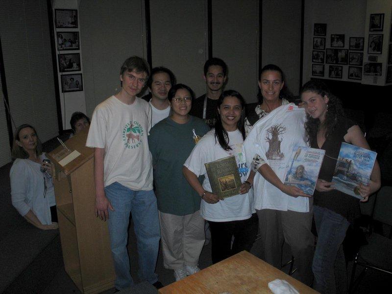 Alan Lee Book Tour: Corte Madera, CA - 800x600, 67kB