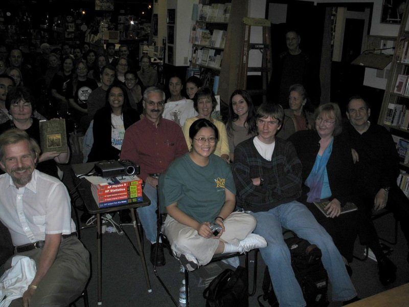 Alan Lee Book Tour: Corte Madera, CA - 800x600, 84kB