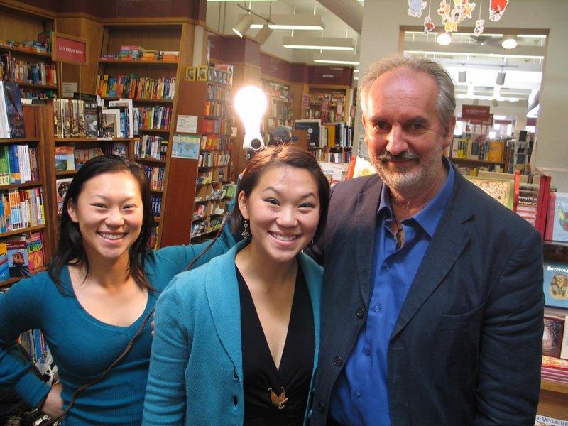 Alan Lee Book Tour: San Francisco, CA - 800x600, 101kB