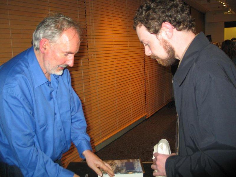 Alan Lee Book Tour: Seattle, WA - 800x600, 79kB