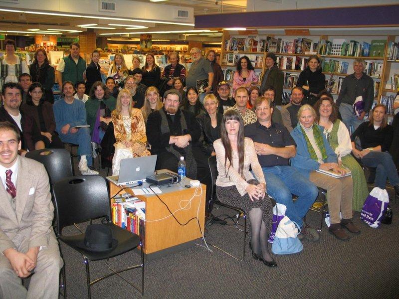 Alan Lee Book Tour: Seattle, WA - 800x600, 125kB