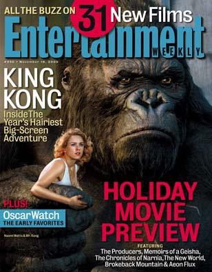 Entertainment Weekly talks King Kong - 308x396, 40kB