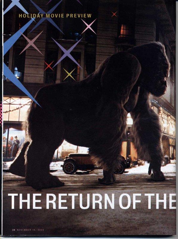 Entertainment Weekly talks King Kong - 596x800, 95kB