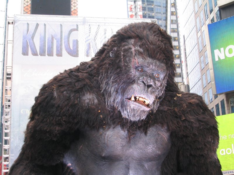 King Kong Premiere: New York, New York - 800x600, 109kB