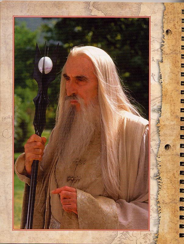 LOTR Student Planner: Saruman - 604x800, 138kB