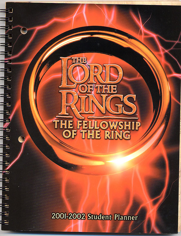 LOTR Student Planner: The Cover - 615x800, 145kB