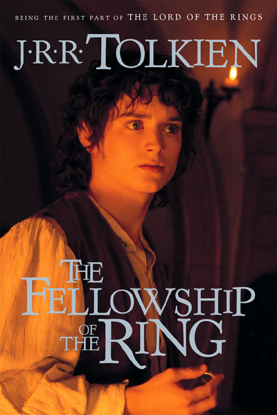 Fellowship of the Ring (Paperback) - Movie Tie-in Cover - 400x600, 55kB
