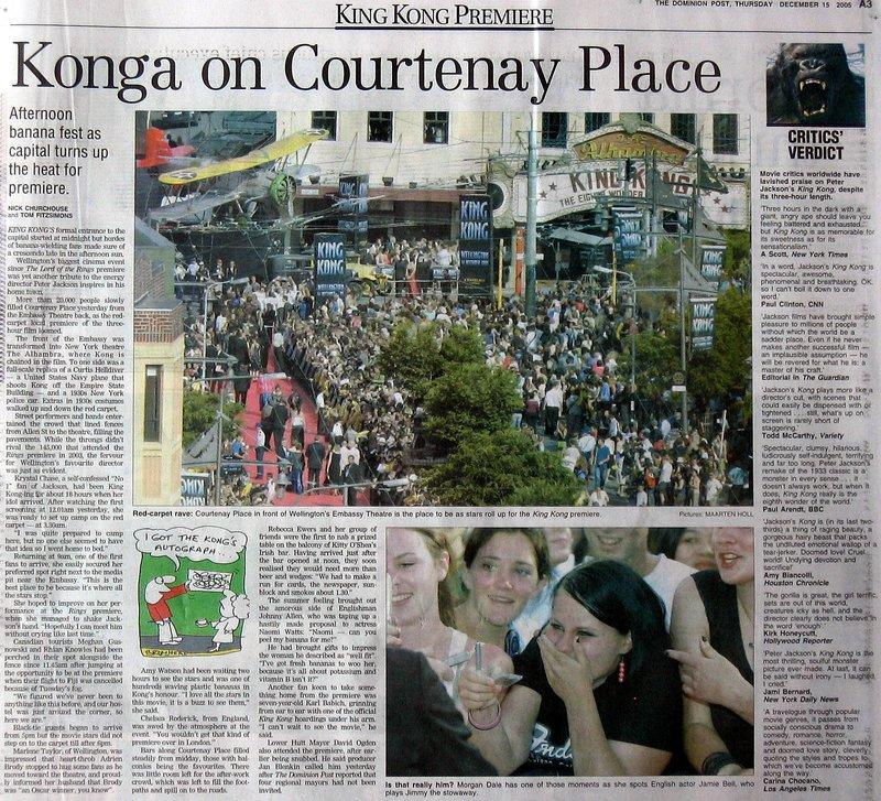 Dominion Post Talks King Kong Premiere - 800x727, 217kB