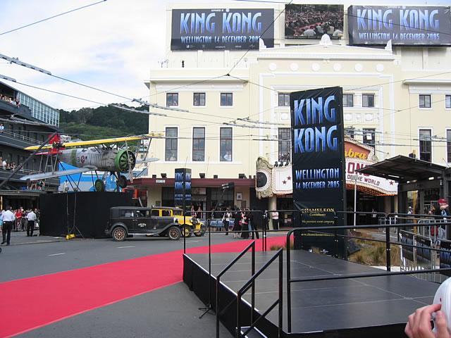 King Kong Premiere: Wellington - 640x480, 86kB