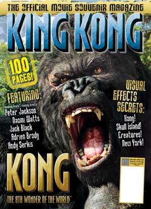 King Kong Official Magazine Covers - 300x414, 49kB