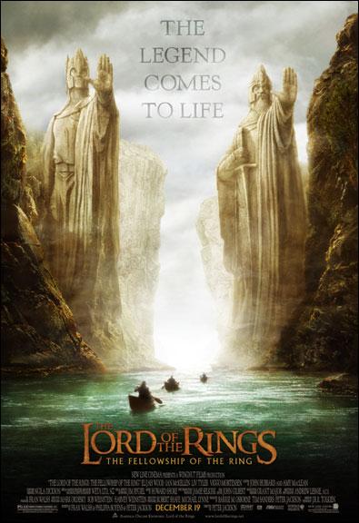 'FOTR' Movie Poster 'B' - 395x576, 57kB