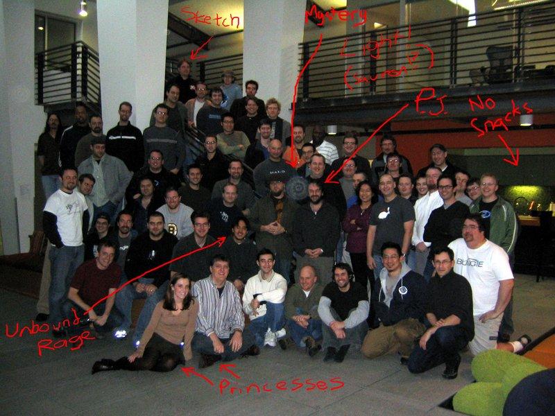 Peter Jackson Visits Bungie Studios - 800x600, 110kB