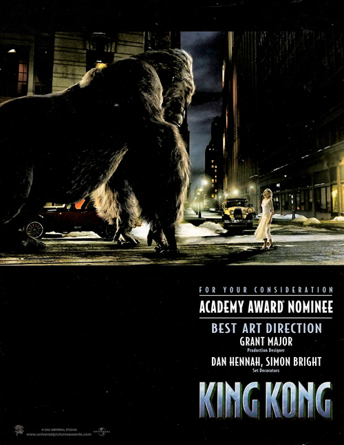 New Kong 'For Your Consideration' Ads - 500x647, 121kB