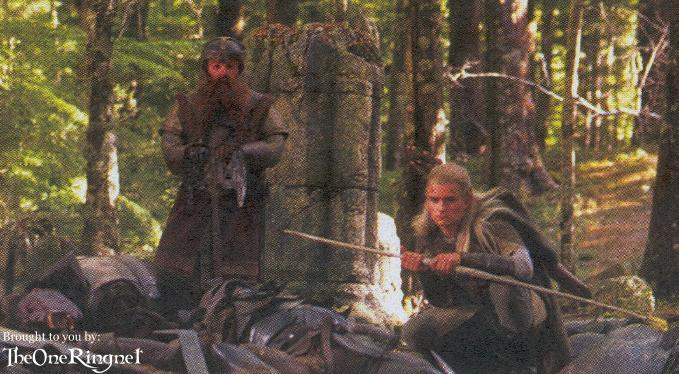 Gimli and Legolas - 679x374, 70kB