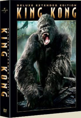 King Kong Extended Edition DVD Cover - 276x398, 30kB