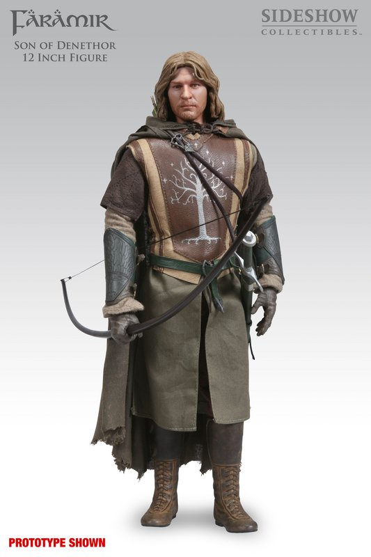 Faramir, Son of Denethor 12-inch Figure - Front View - 533x800, 50kB