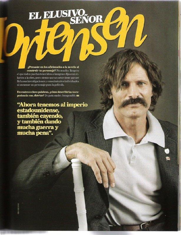 Viggo Mortensen in Mexico's 'Premier Magazine' - 615x800, 109kB