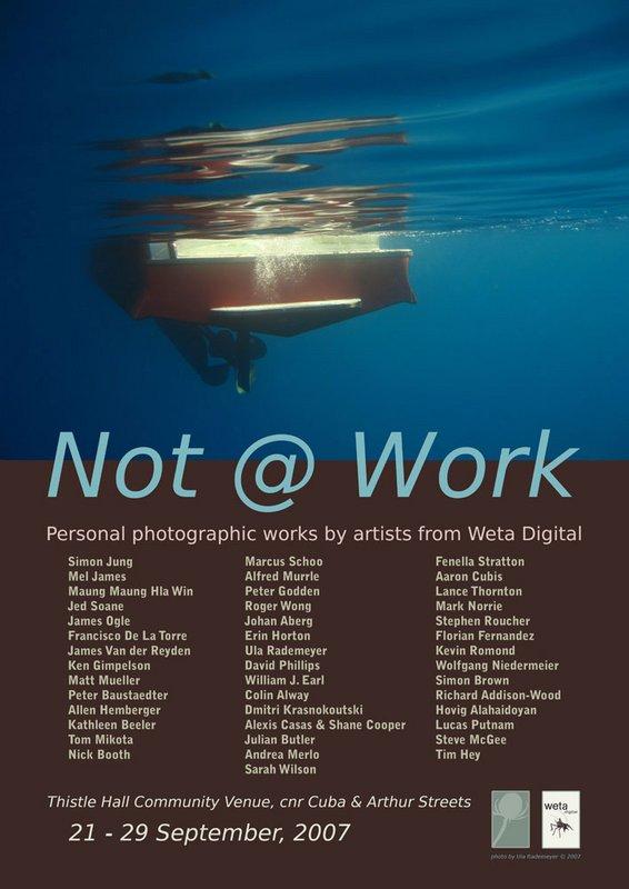 Not @ Work - Photo Exhibit from WETA Staff - 566x800, 65kB