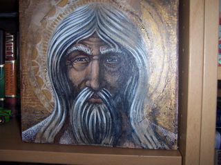 Byzantine Fresco Tolkien Art - 320x239, 56kB