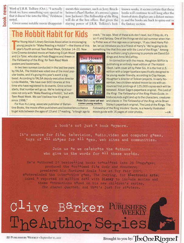 Publishers Weekly Article - 605x800, 121kB