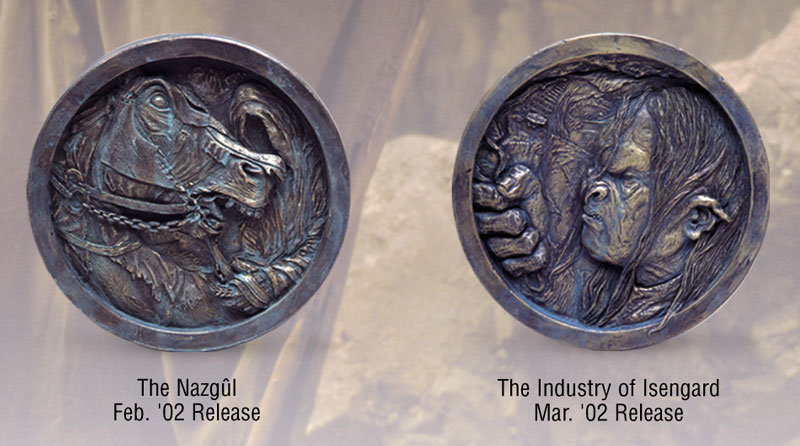 LOTR Medallions - Nazgul and Isengard - 800x446, 85kB