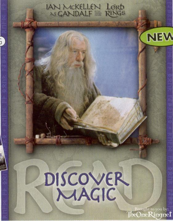 ALA poster showing Gandalf reading - 561x715, 70kB