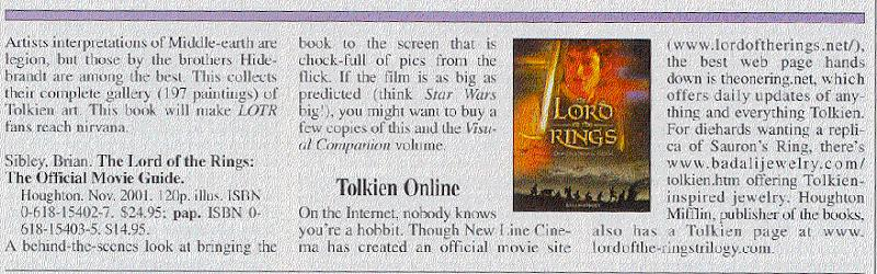 List of books and websites about JRR Tolkien - 800x250, 74kB