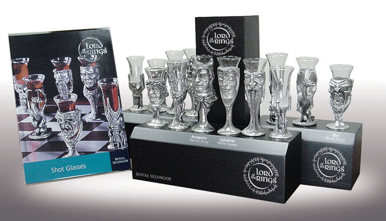 Display of Shot Glass Chess Pieces - 787x451, 86kB