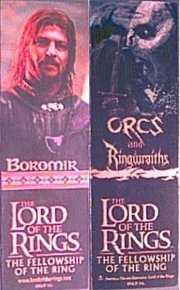 LOTR Bookmarks in Schools - 254x408, 24kB