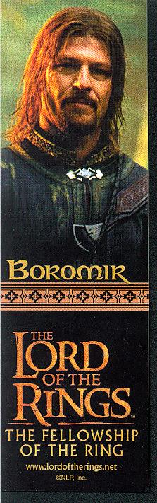 LOTR Bookmark - Boromir - 223x711, 53kB