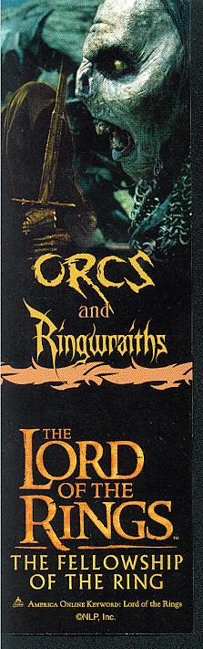 LOTR Bookmark - Orcs and Ringwraiths - 223x711, 52kB
