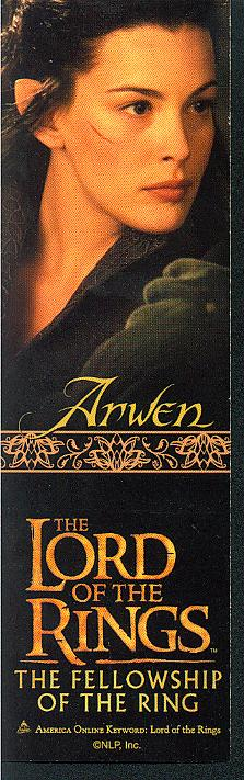 LOTR Bookmark - Arwen - 223x711, 52kB