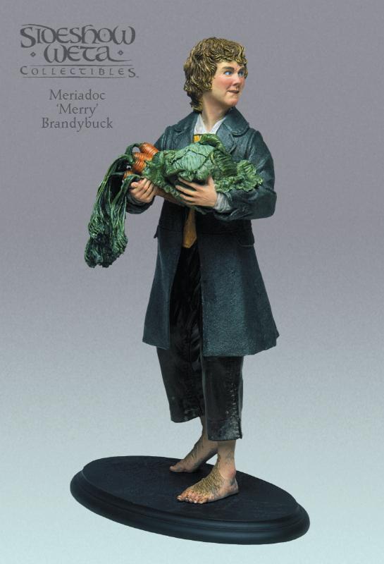 "Meriadoc ""Merry"" Brandybuck Polystone Statue - 545x800, 40kB"