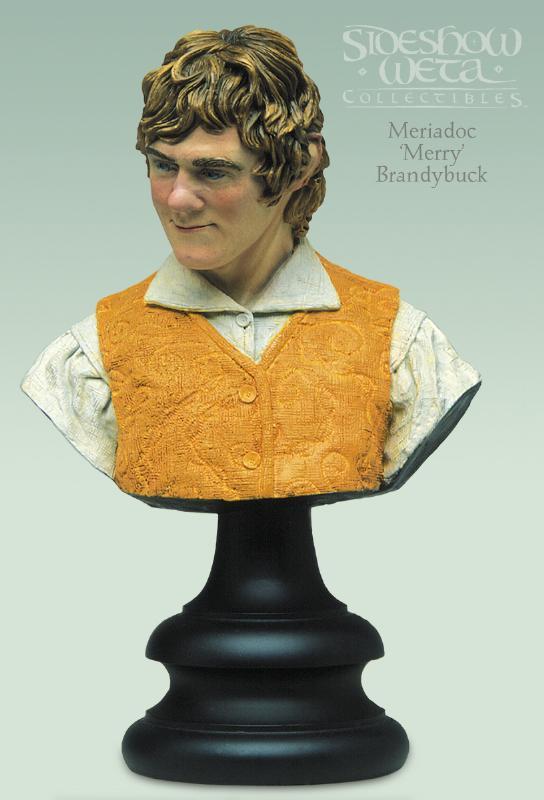 "Meriadoc ""Merry"" Brandybuck Polystone Bust - 544x800, 45kB"