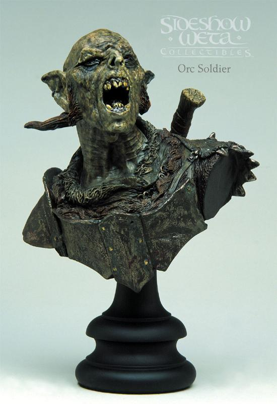 Orc Soldier Polystone Bust - 550x800, 52kB