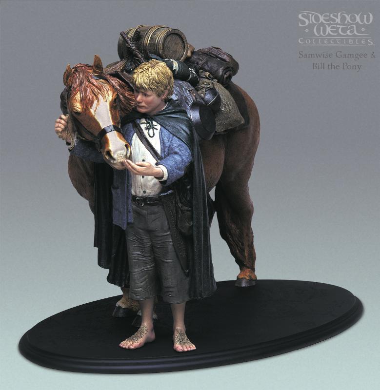 Sam and Bill the Pony Polystone Figure - 779x800, 63kB
