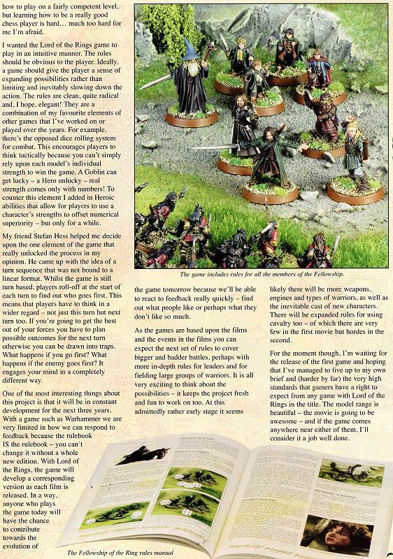 Games Workshop LOTR Miniature Manual - 562x800, 177kB