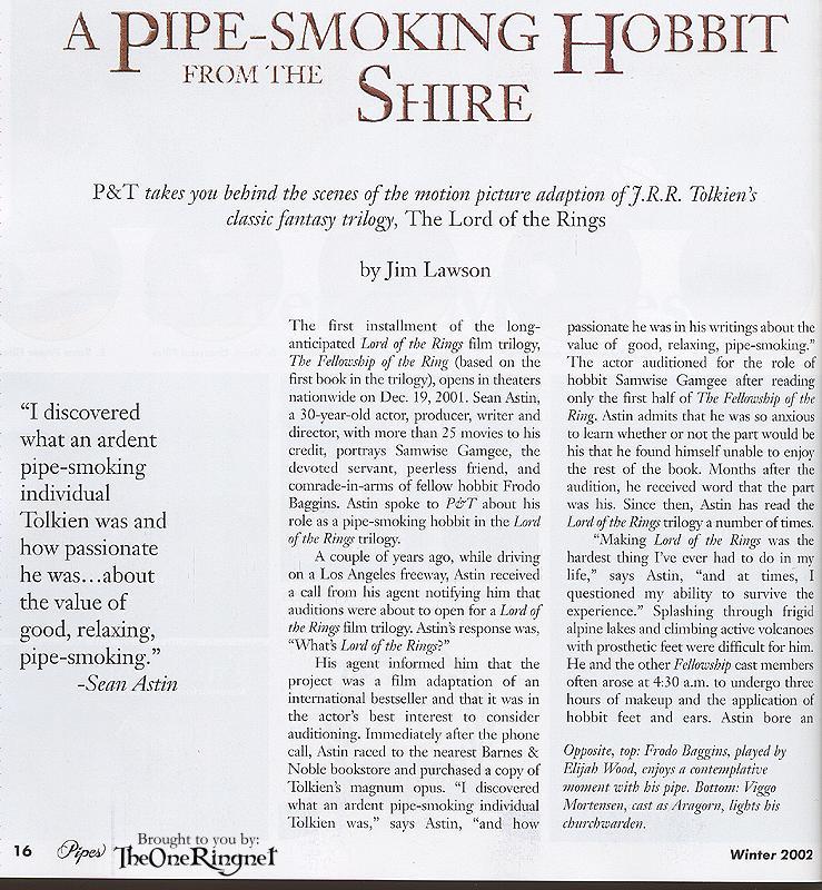 Pipes & Tobacco Magazine - Page 1 - 739x800, 154kB