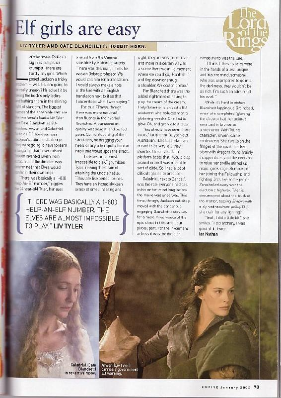 Media Watch: Empire Magazine's FOTR Collectors Edition - 566x800, 110kB