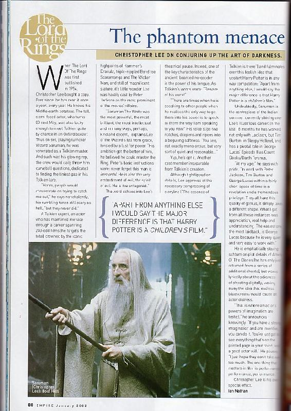 Media Watch: Empire Magazine's FOTR Collectors Edition - 620x877, 120kB