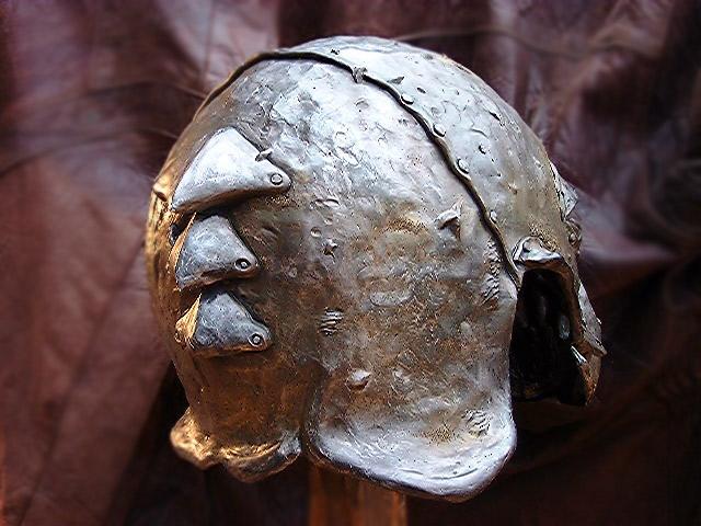 Back View of Orc Helmet - 640x480, 84kB