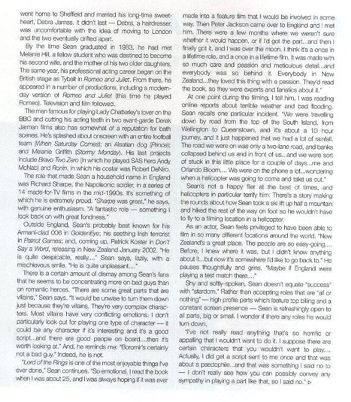 Lifestyle Magazine: Sean Bean 3 - 700x800, 211kB