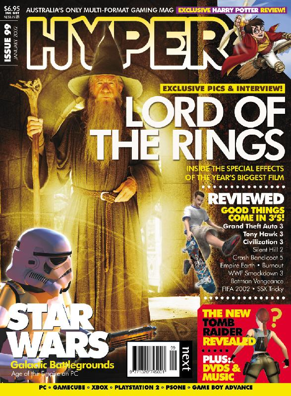 WETA Digital And FOTR In Hyper Magazine - 587x800, 134kB